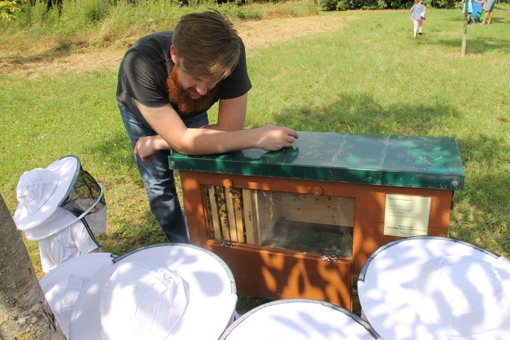 Kinderkurs an der BienenBox