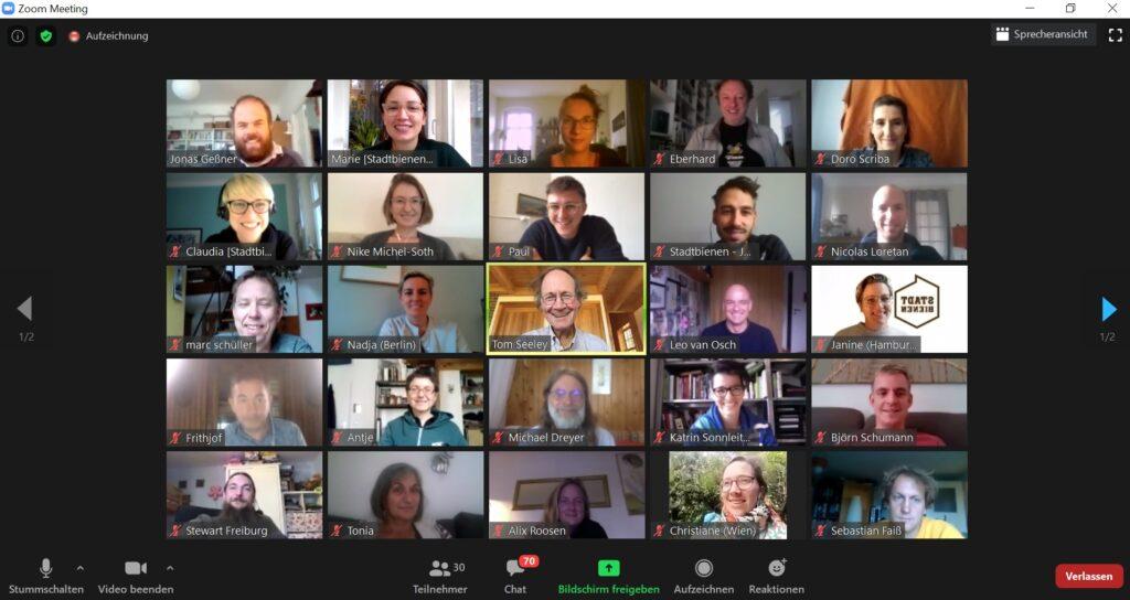 Digitales Referententreffen 2020 mit Prof. Dr. Thomas Seeley