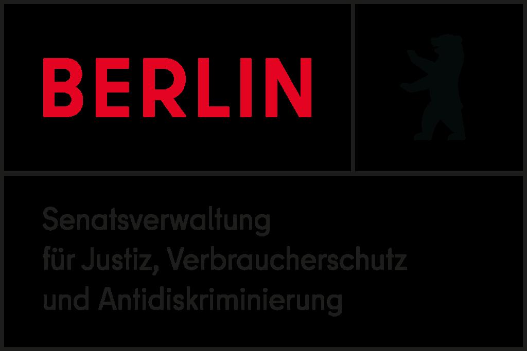 Logo der Berliner Senatsverwaltung für Justiz, Verbraucherschutz und Antidiskriminierung