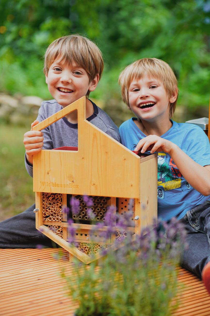 Die WildbienenBox von Stadtbienen